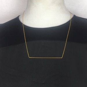 NWT Gorjana Aspen tube necklace